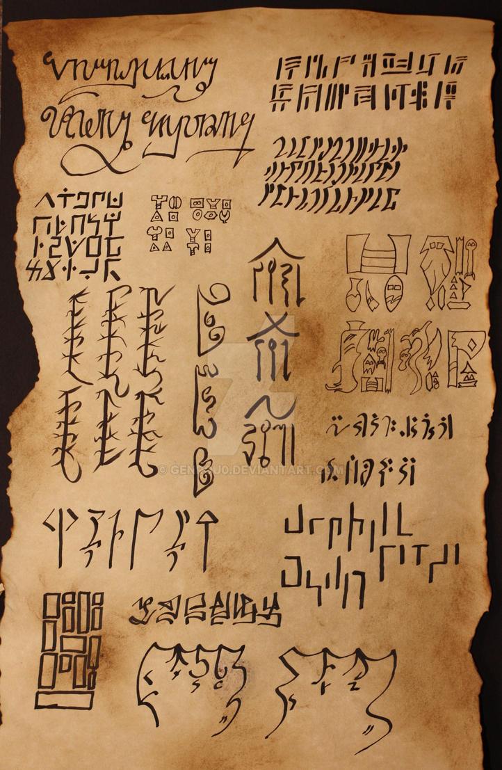 Warcraft Languages by genrou0