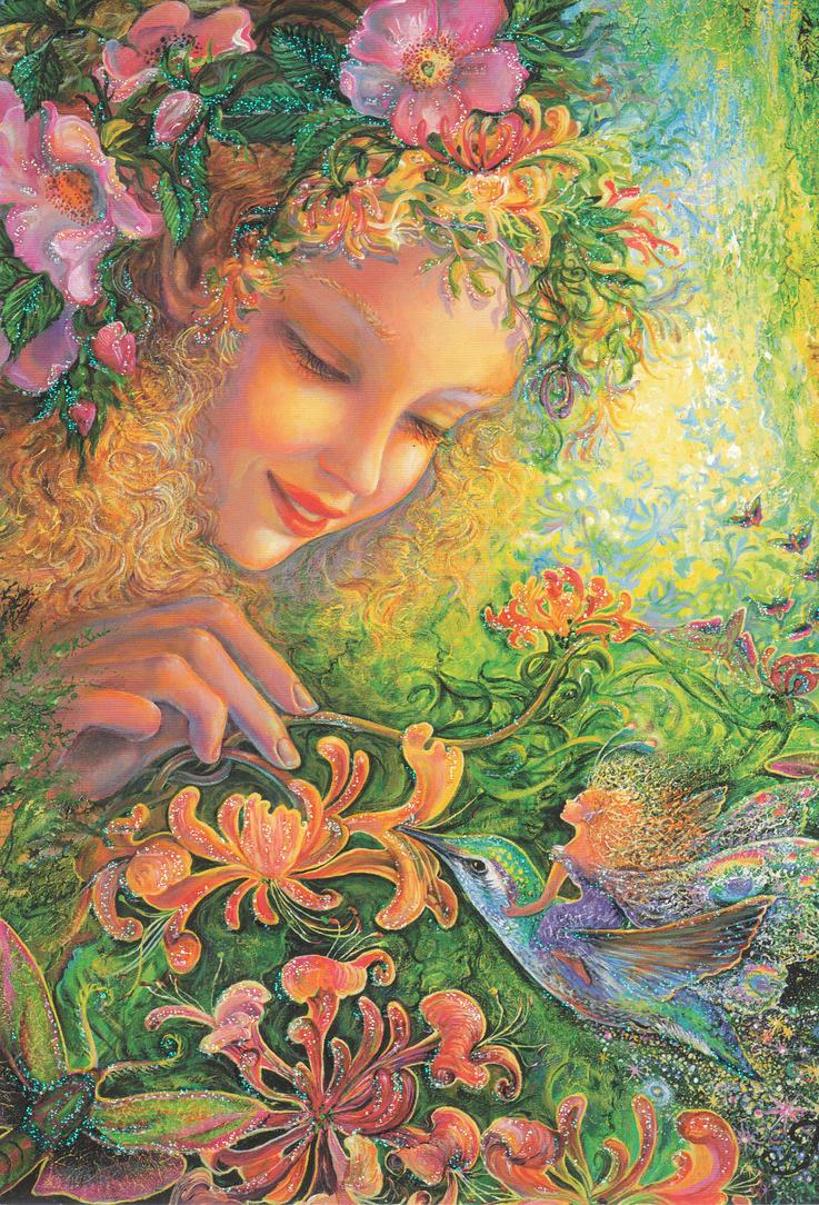 Flowers of generosity. by Erucebeta