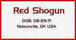 redshogun's Profile Picture