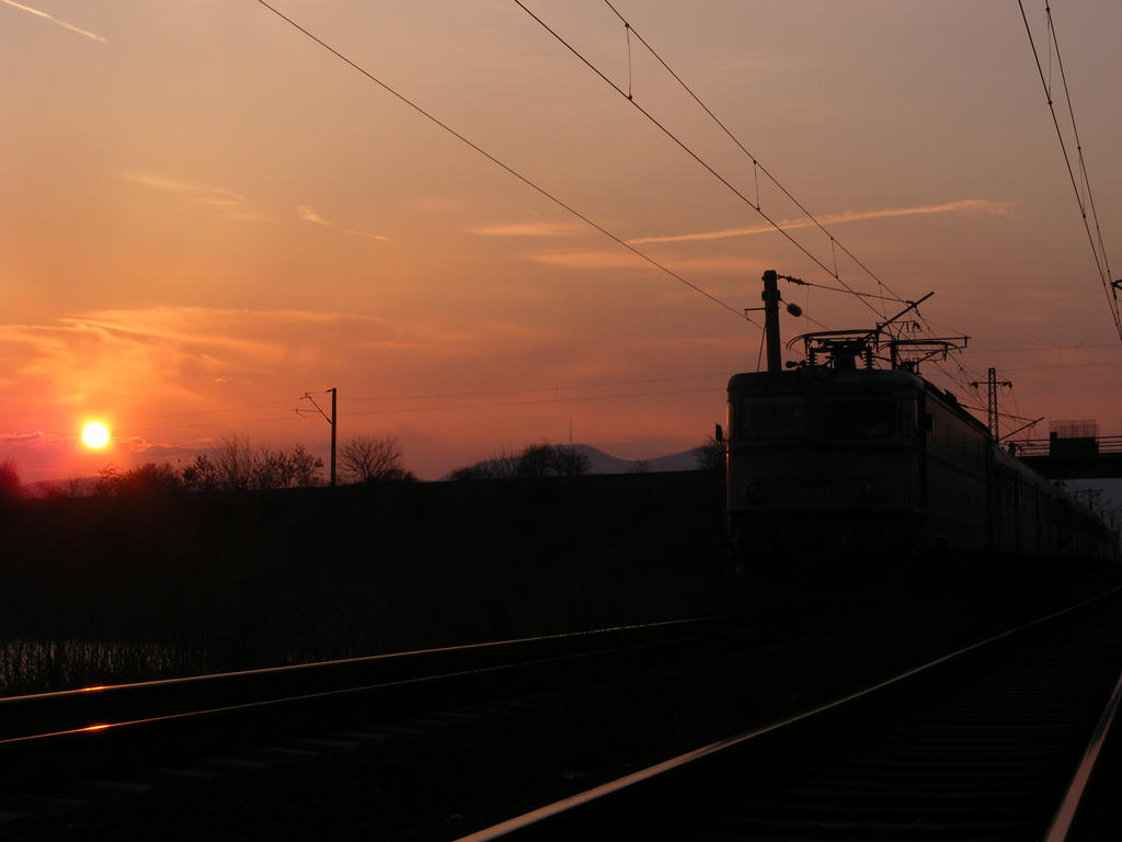 Sunset and Regio 2032 by Sadguardian