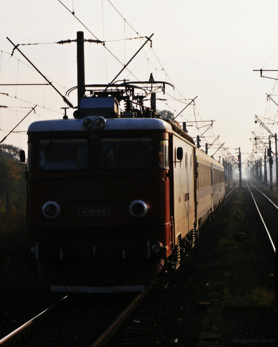 Morning Travel by Sadguardian