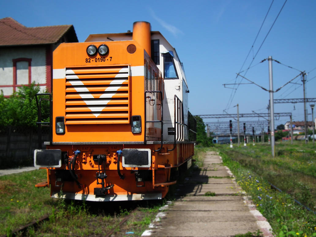 Orange It's Back by Sadguardian