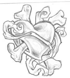 Tattoo sketch II by FreakOnaLeash69