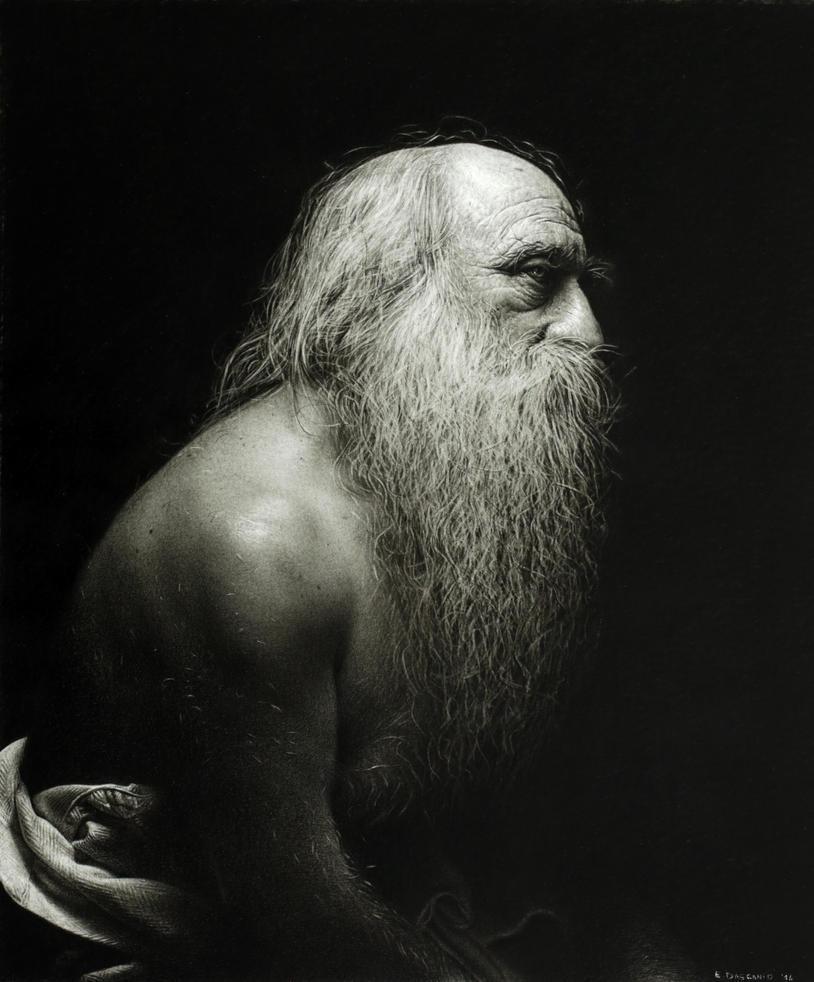 Naked for me, Leonardo. by EmanueleDascanio
