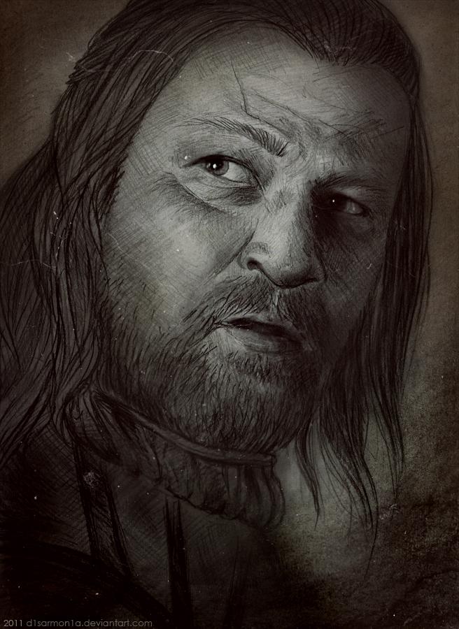 Eddard Stark by d1sarmon1a