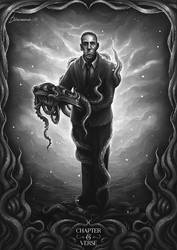 H. P. Lovecraft by d1sarmon1a