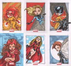 Marvel Universe SC XII by YesimGA