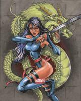 Marvel Universe AP- psylocke by YesimGA