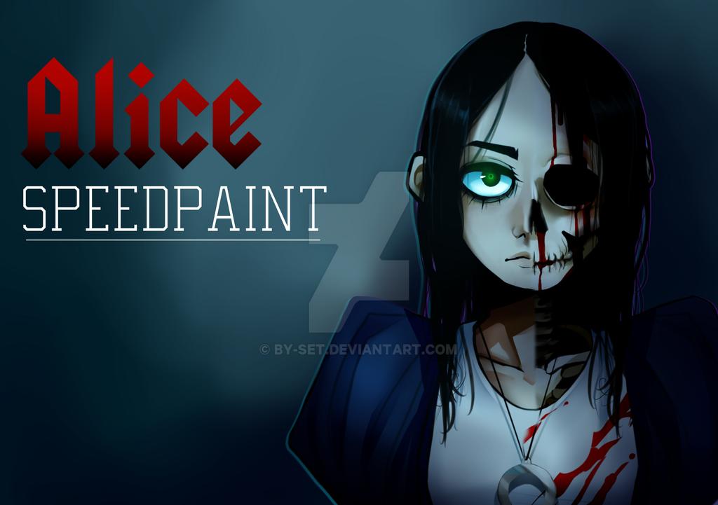 Alice [Speedpaint] by By-Set