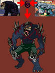 Doomsday fused with Nomu by Galahound19