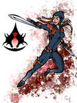 The Black Widow Assassin by Galahound19