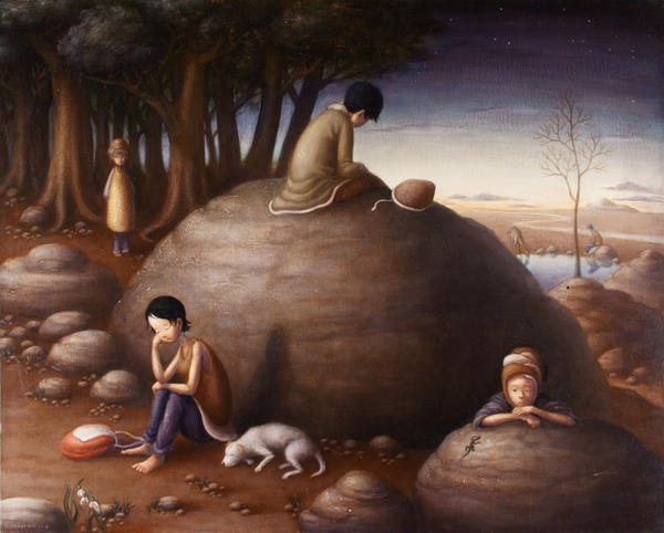 The thinking place by perodog