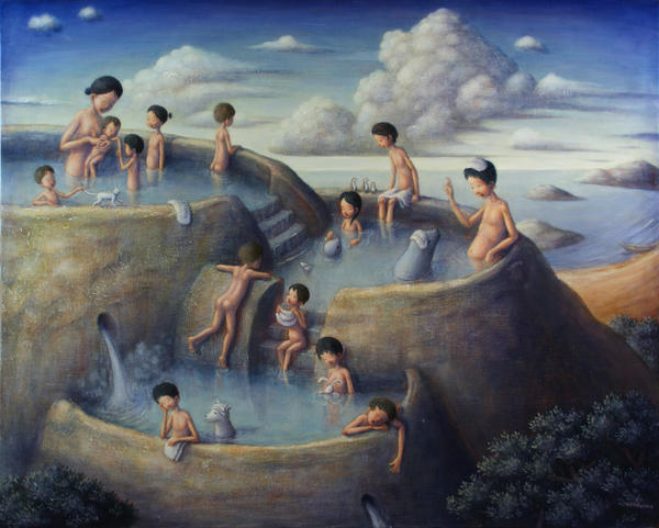 """Terraced Hot Spring"" by Shinya Okayama"