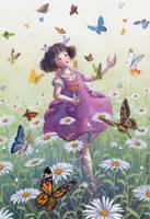 Butterfly garden by perodog