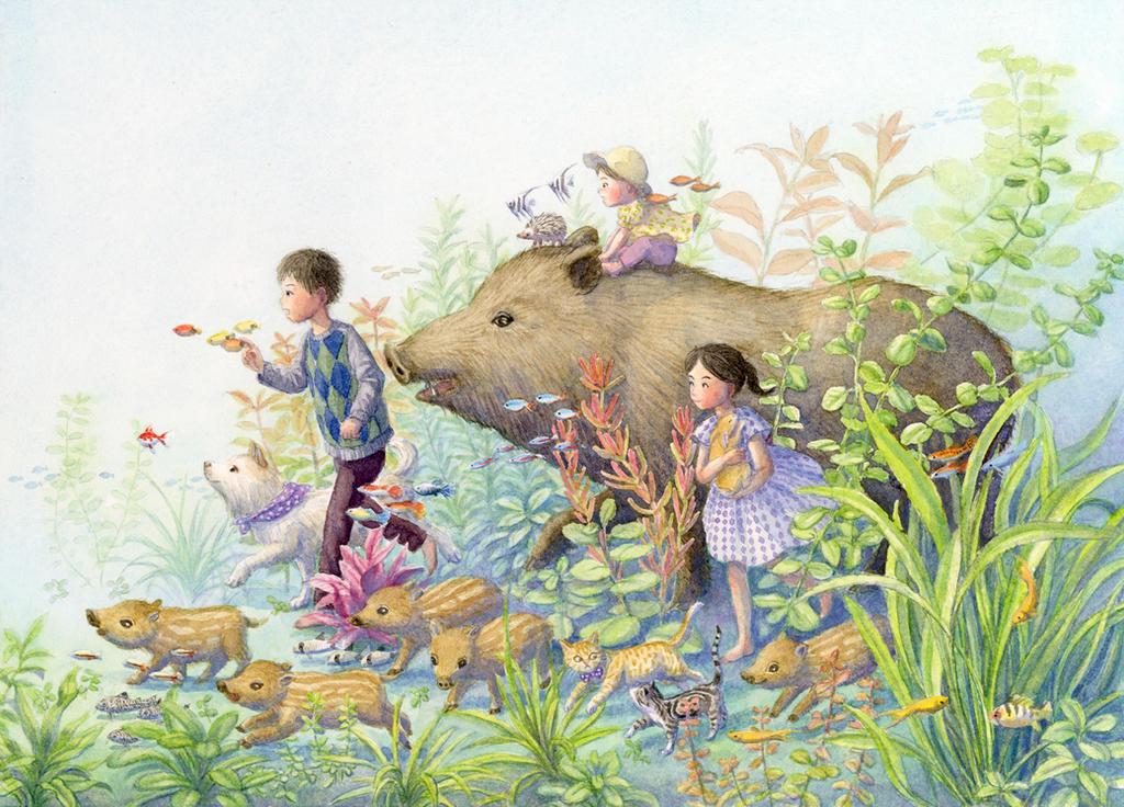 Tropical boar by perodog