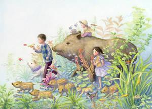 Tropical boar