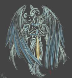 Good Omens Trueforms: Aziraphale by Knupfel