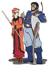 That thing where Team Aqua and Team Magma try DnD