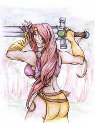 Rune Soldier:: Genie by MistressCat