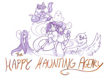The Happy Haunting Agency by MistressCat