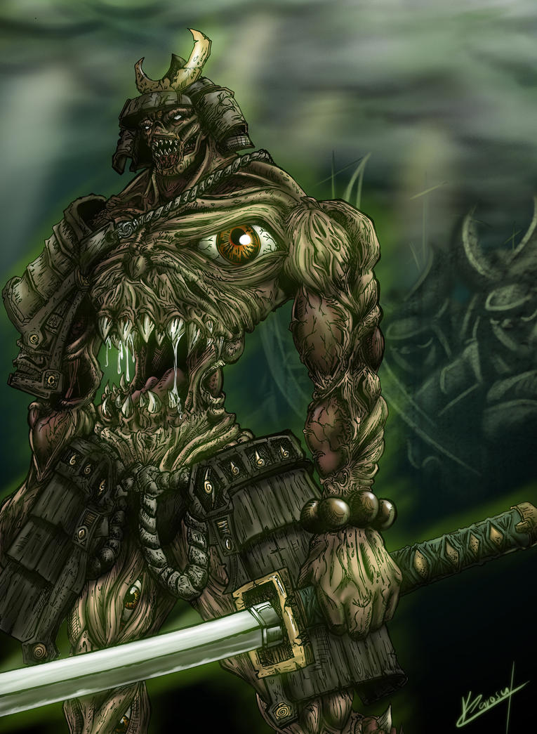 demon samurai soul by karosumaker on deviantart