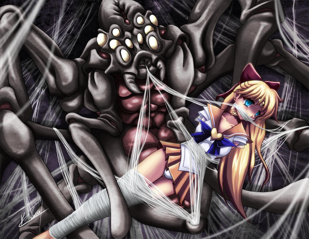 Commish: Sailor venus trapped by Karosu-Maker
