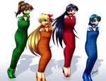 Sailor Moon girls 02