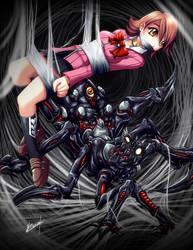 Yukari trapped by Karosu-Maker