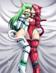 Cici and Shibari