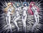 Mina, Jenny,Kurumu and Moka