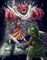 Zelda - Blind the Thief by Karosu-Maker