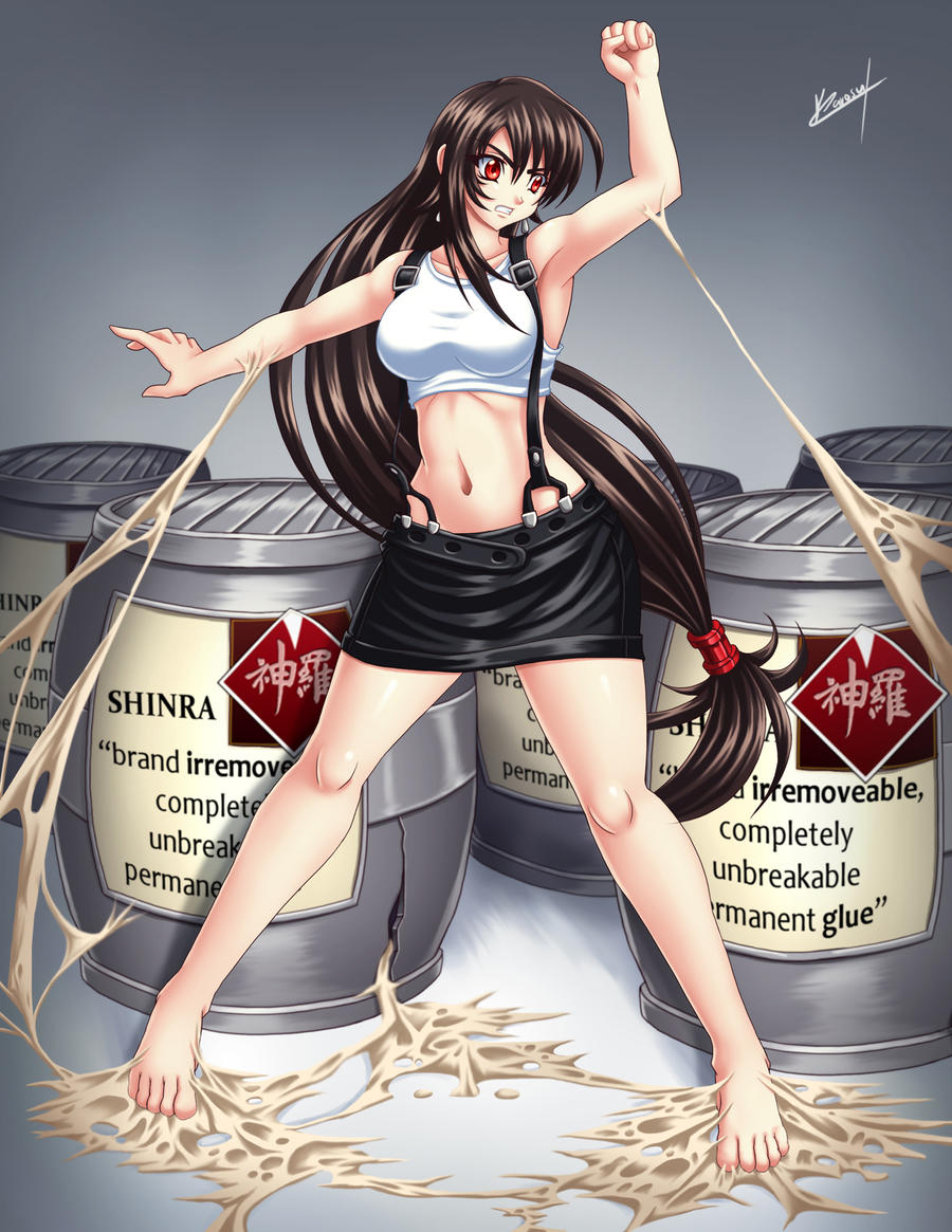 Tifa Glued by Karosu-Maker