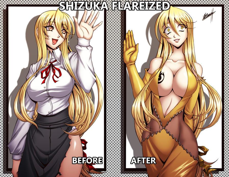 Shuzuka Flareized by Karosu-Maker