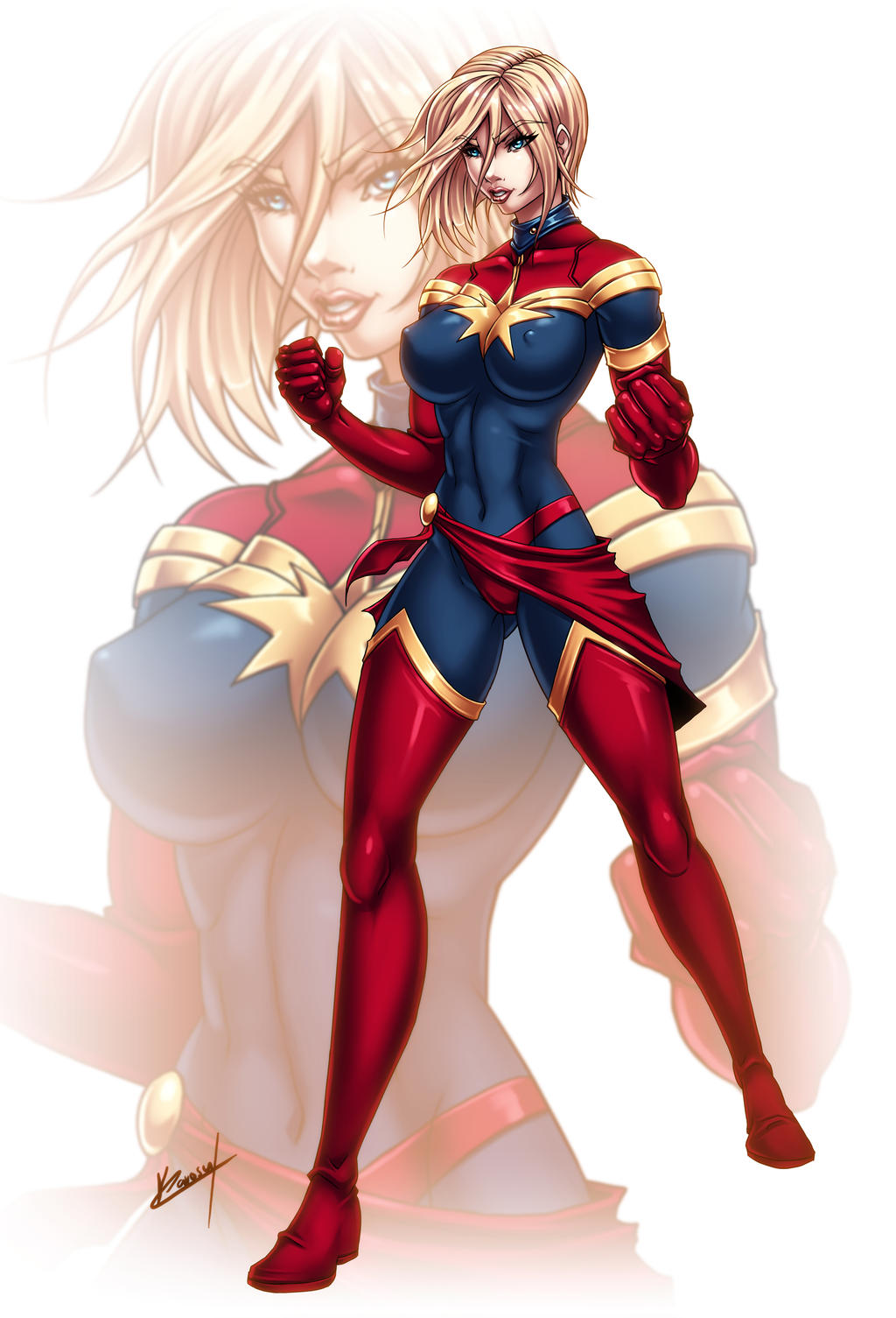 Marvel Girls: Carol
