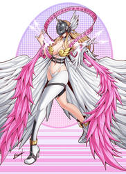 Angewomon by Karosu-Maker