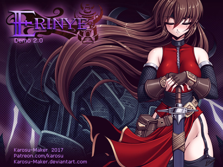 Erinye Demo 2.0 on Steam!
