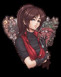 Claire Redfield bust by Karosu-Maker