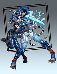 Sera Sister Unit by Karosu-Maker