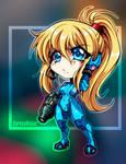 Chibi Zero Suit Samus