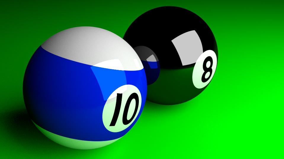 Pool balls by TailsTheFoxFan