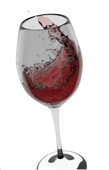 Wine Glass by TailsTheFoxFan