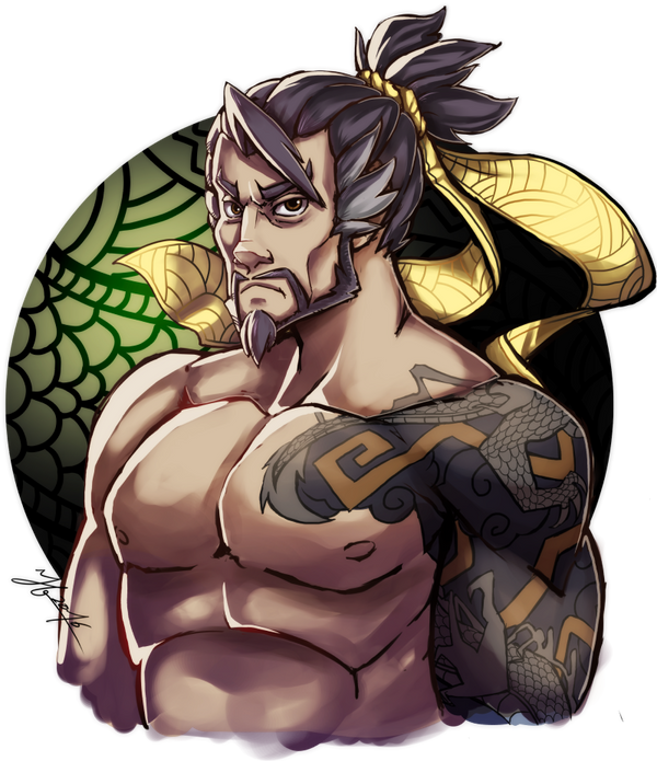 Hanzo from Overwatch by Andante2