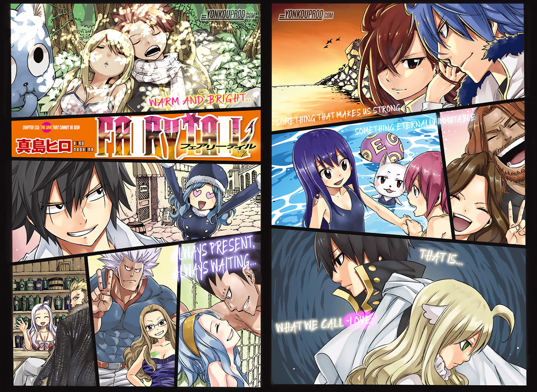 Fairy Tail Couple Officiel( NaLu,GruVia, GaLe, ElE by mikan21