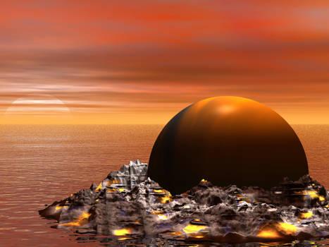 planeta caigut del cel