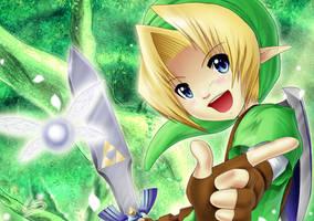 Legend of Zelda Speedpaint by Deamond-89