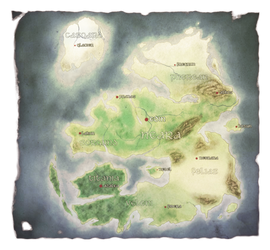 Aether World Map by Deamond-89
