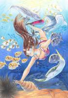 Kanoko - Gaia Summer Fun Contest by Deamond-89