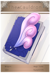 [Cauldron] Stage 1 Weapon - cute and fluffy Tome by Deamond-89