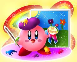 Kirby- Rainbow Artist