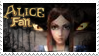 American McGee Alice Fan Stamp by Annortha